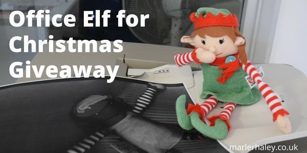 office elf for chirstmas giveaway
