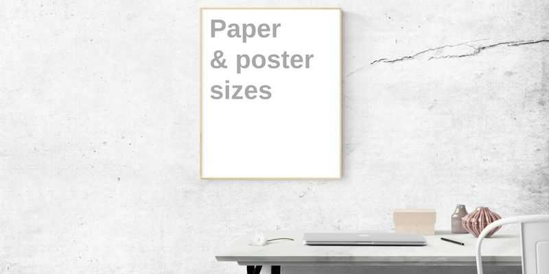 Paper and poster sizes