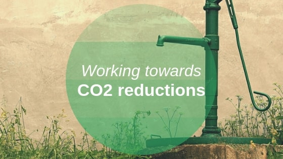 How we're working towards CO2 reductions