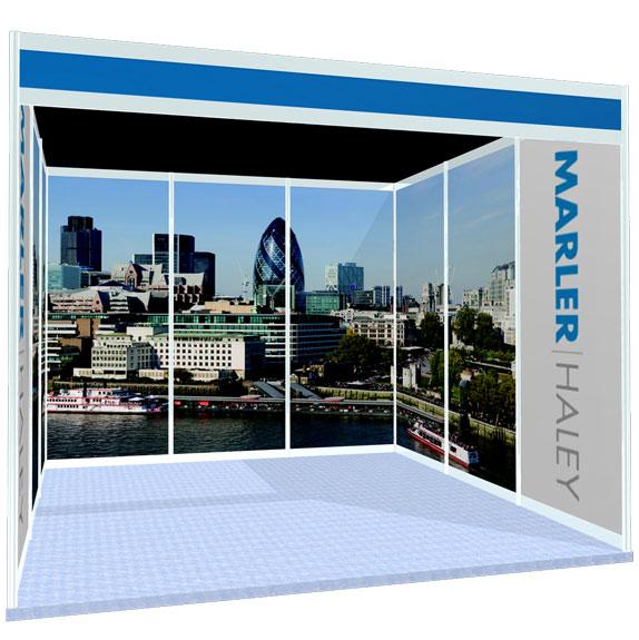 Exhibition Shell Scheme Graphics : Our news marler haley