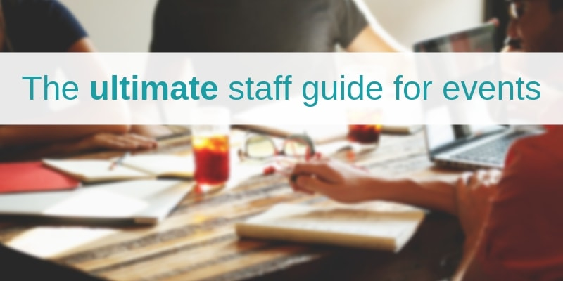 Staff guide for events