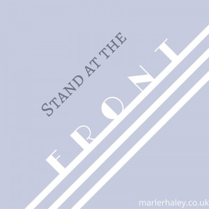 How to behave on stand stand at the front