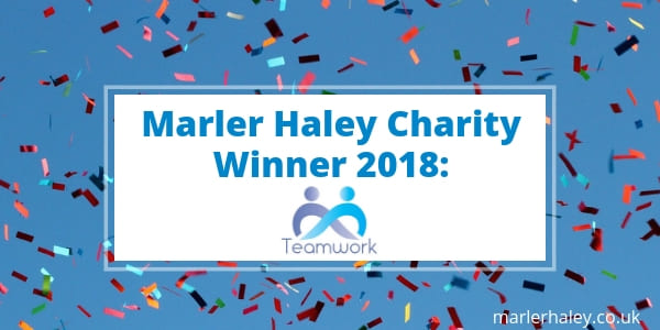Teamwork Trust charity winner 2018
