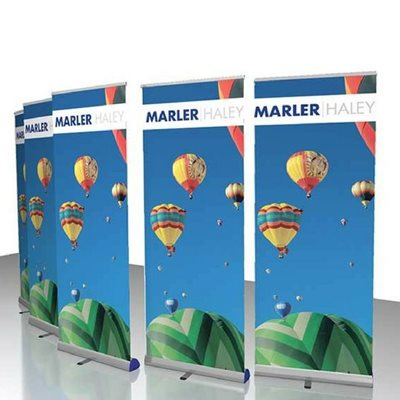 5x Junior Roller Banner Stands