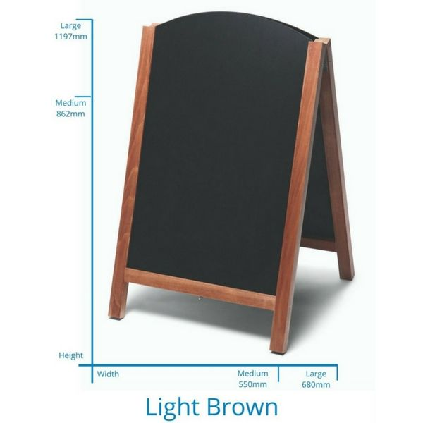 Fast Switch Chalkboard Light Brown