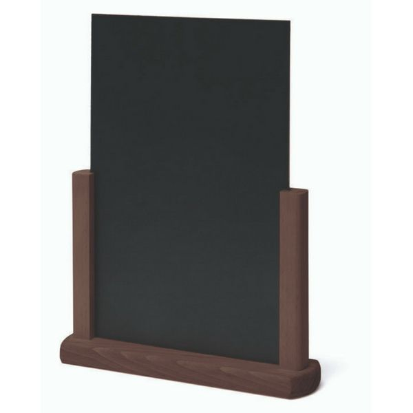 Tabletop Chalkboard Dark Brown