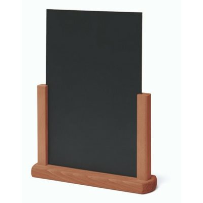 Tabletop Chalkboard Light Brown
