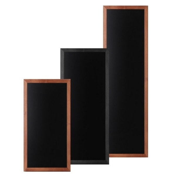 Large Wall Mounted Chalkboards - Flat Profile