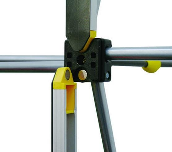 Magnetic bars on frame