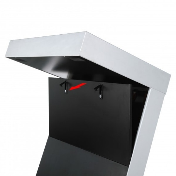 Digital Kiosk - Open back
