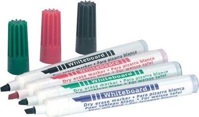 Pack of 12 Dry Wipe Pens