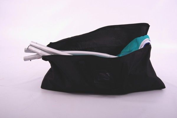 Zip Up Curl Lightweight Fabric Display Carry Bag