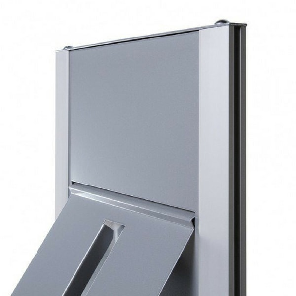 Freestanding A4 Brochure Rack Close Up