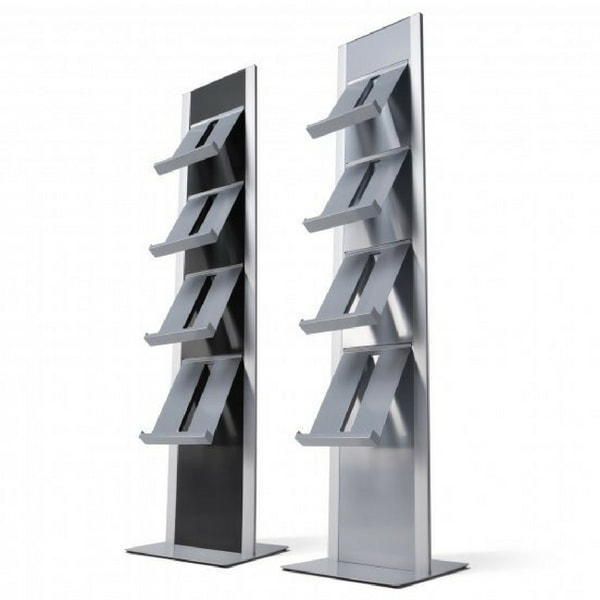 Freestanding A4 Brochure Rack