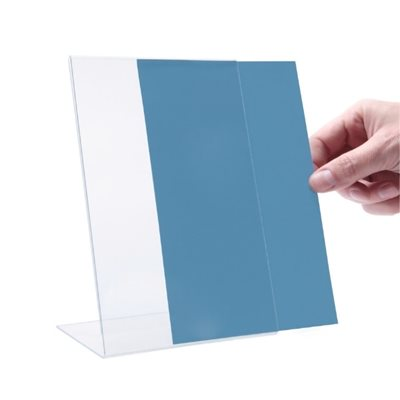 L-Shape Acrylic Menu Holder