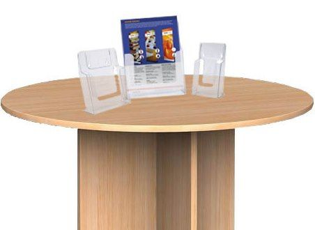 LD21 Clear Acrylic Leaflet Holder
