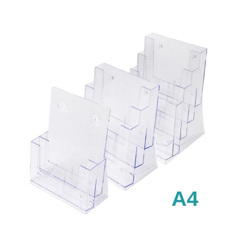 A4 Multi Pocket Leaflet Holders