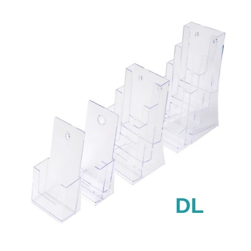 DL Multi Pocket Leaflet Holders