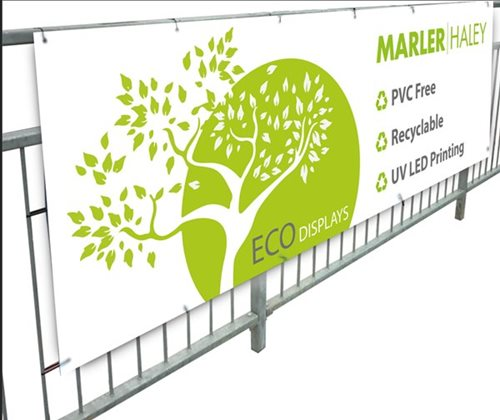 Environmentally friendly banner
