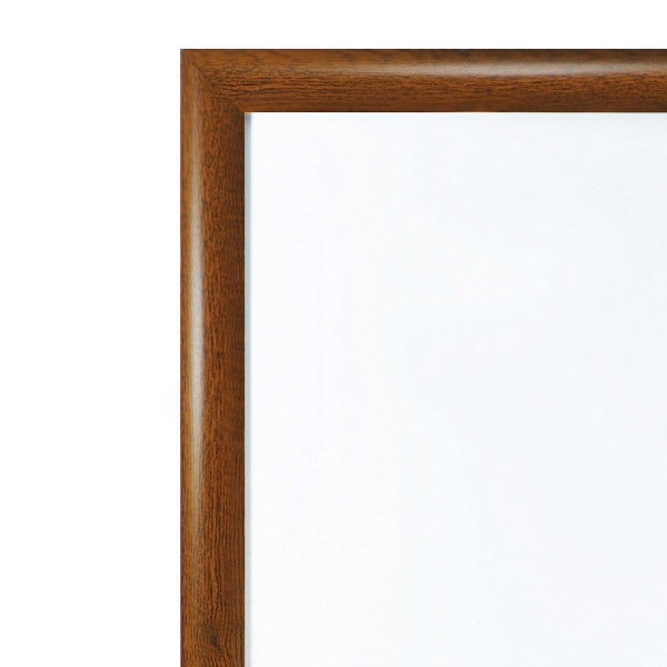 Oak snap frame edge