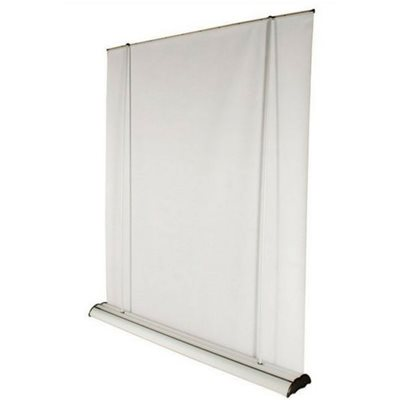 Widescreen Roller Banner Stand Rear View