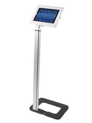 Freestanding Smart Tablet Holder With Tablet
