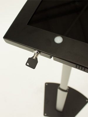 Freestanding Telescopic iPad Holder Lock