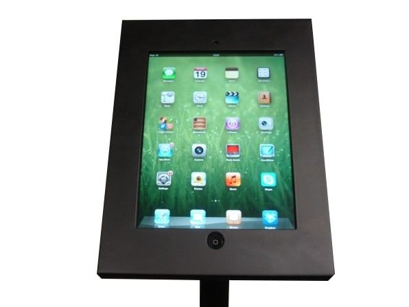 Freestanding iPad Holder Close Up