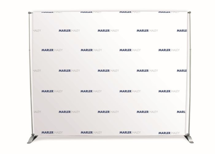 3m Step and Repeat Banner & Frame